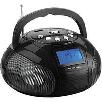 Mini Rádio Boombox Usb/fm/sd 10w Preto Sp145 Multilaser