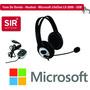 Fone De Ouvido - Headset - Microsoft Lifechat Lx-3000 - Usb