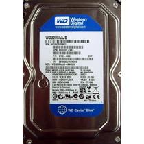 Hd 320gb Sata 3.0gb/s Pc 7200rpm Interno 3.5 Wd 12x S/ Juros