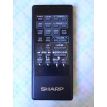 Controle Remoto Sharp P/ Aparelho Som System 4 Em 1 Cd-x40b