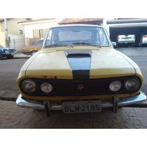 Corcel 1 Gt Original Ano 1972 Amarelo