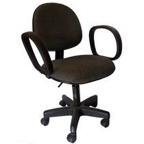 Cadeira Secretária Giratória C/ Braços Usada Excelente Estad