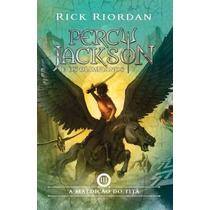 Livro A Maldição Do Titã - Coleção Percy Jackson - Novo