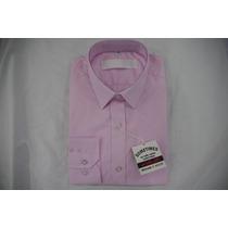 Camisa Social Masculina Sergio K , Cor Rosa