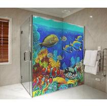 Adesivo Box Banheiro Decoração M2