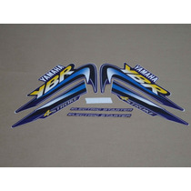 Kit Adesivos Yamaha Ybr 125 2002 Azul