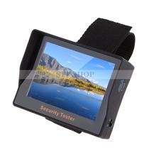 Monitor Tester Para Câmeras De Cftv - Tela 4.3 Portátil Top