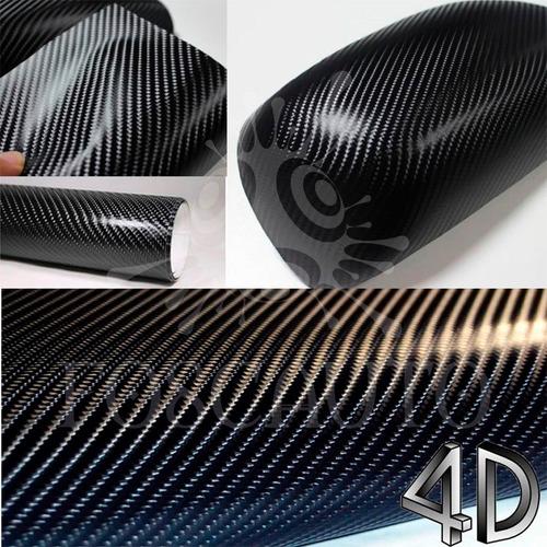 Armario Lavabo Baño ~ Adesivo Fibra Carbono 4d Vinil De Envelopamento 1m X
