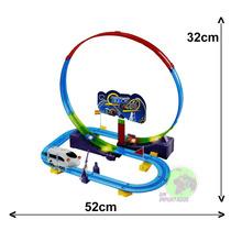 Brinquedo Trem Bala Eletrico Mini Ferrovia Track Racer