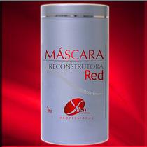Cabelos Vermelhos - Máscara Reconstrutora Matizadora Red
