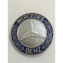 Emblema Mercedes Caminhão Antigo Original Peça Novamova