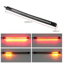 Lanterna Flexível De Led Para Moto Com Pisca E Luz De Freio