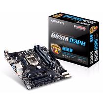 Placa-mãe Gigabyte Micro Atx P/ Intel Lga 1150 Ga-b85m-d3ph