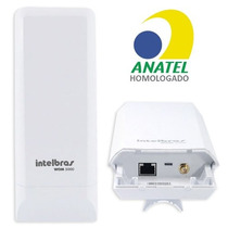 Cpe Nano Wireless N Intelbras Wom 5000 5ghz 12dbi 150mbps