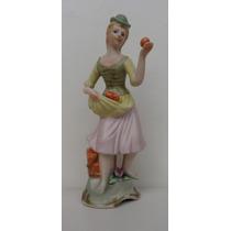 Bela E Antiga Estatueta Em Porcelana Biscuit Alemã
