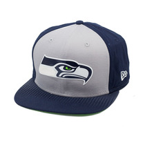 Boné New Era Snapback Original Fit Seattle Seahawks Draft