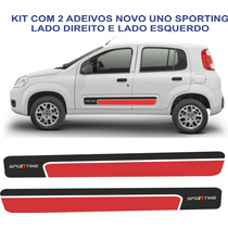 Adesivo Abarth Novo Uno Vivace Sporting Faixa Kit
