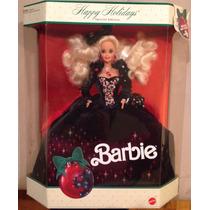 Barbie Happy Holidays 1991 Mattel Nao Gravida Promocao Seman