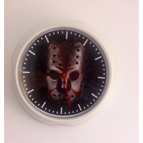 Máscara Do Jason Sexta-feira 13 - Terror - Relógio - Freedy