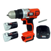 Furadeira Parafusadeira Black And Decker Litio 2 Baterias Li