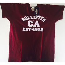 Camiseta Básica Masculina Hollister Frete Grátis