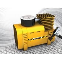 Mini Compressor De Ar Portátil 12v 300 Psi + Brinde Chimpa