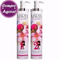 Escova Progressiva Maria Escandalosa 2 X 1000ml+brinde