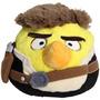 Han Solo - Angry Birds Star Wars - Pelúcia De 20 Cm