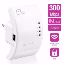 Repetidor De Sinal Wireles 300mbps Multilaser Re051