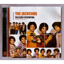The Jacksons Cd Selecao Essencial Grandes Sucessos Novo