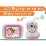 Babá Eletrônica Digibaby 3.5 Wireless D-8035p Cor Rosa