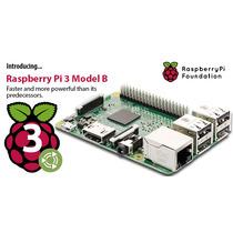 Raspberry Pi 3 Quadcore 1.2ghz (10x Rapido) 1gb !! Excelente
