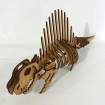 Quebra Cabeça 3d - Coleção Dinossauros - Dimetrodon Mdf