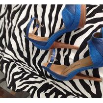 Sandália Carmen Steffens Azul Royal