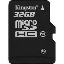 Cartão Memória Micro Sd 32gb Classe 4 ,leitor Usb Kingston
