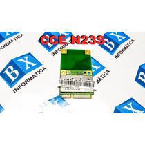Placa Pci Wireless Netbook Cce Win N23s N235 Ar5b95