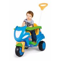 Triciclo Max 2 Em 1 Azul (para Criança Até 8 Anos De Idade)