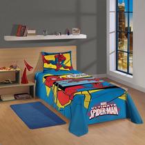 Edredom Infantil Homem Aranha Spider Man Original Lepper