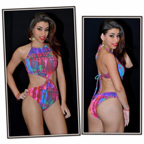 Trikini Com Bojo Da Guarujá Biquínis R.14306 Nova Coleção.