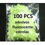 100 Estrelas Luminosas De Teto - Plástico - Fluorescente