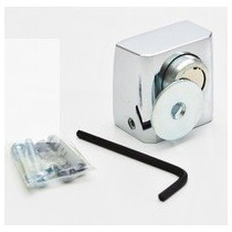 Prendedor De Porta Magnético - Aço Inox Polido - (9pcs)