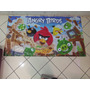 Painel Decorativo Festa Infantil Lona Angry Birds