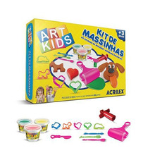 Kit De Massinhas - Art Kids Acrilex Nº4 - Brinq Educativo
