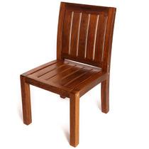 Cadeira De Jardim Em Madeira Angelim Amargo Sem Descanso