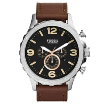 Relógio Masculino Fossil Nate Chronograph Jr1475/2pn 50mm