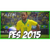 Patch Pes® 2015 Brasileirão (atualizado Dia 15/07/15)