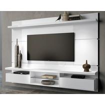 Painel Branco Suspenso Bancada Tv 60 Livin 2.2 Hb Móveis