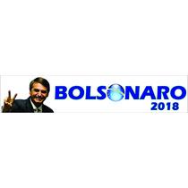 Adesivo Bolsonaro 2018