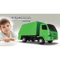 Caminhão Urban Coletor Roma Brinquedos Frete Gratis