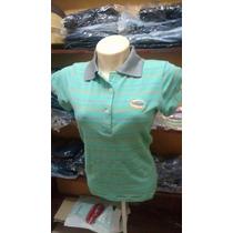 Camisa Polo Feminina Baby Look Country Listrada